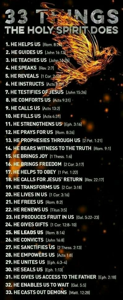 What does the holy spirit do for us when we ask god for help what does the holy spirit do for us when we ask god for help bible scripturesholy negle Images