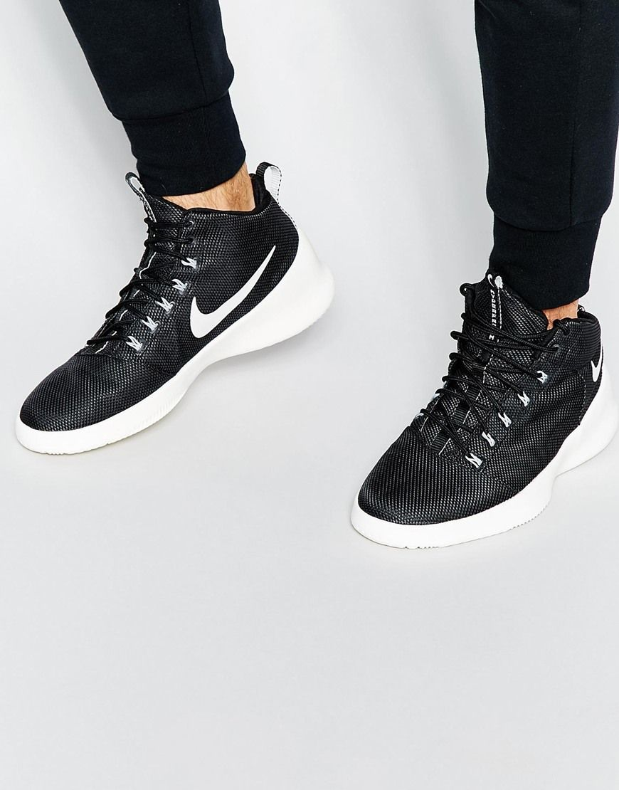 29ed90e651a Trainers by Nike Textile upper Pull tabs Shaped and padded cuffs Lace-up  fastening Round shaped toe Signature swoosh detail Textured tread Wipe with  a damp ...