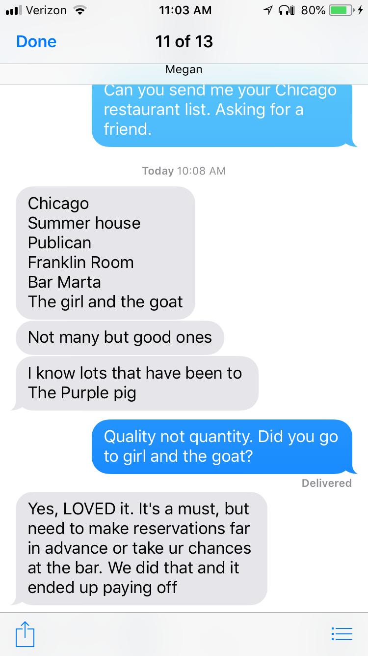 Chicago Restaurants In