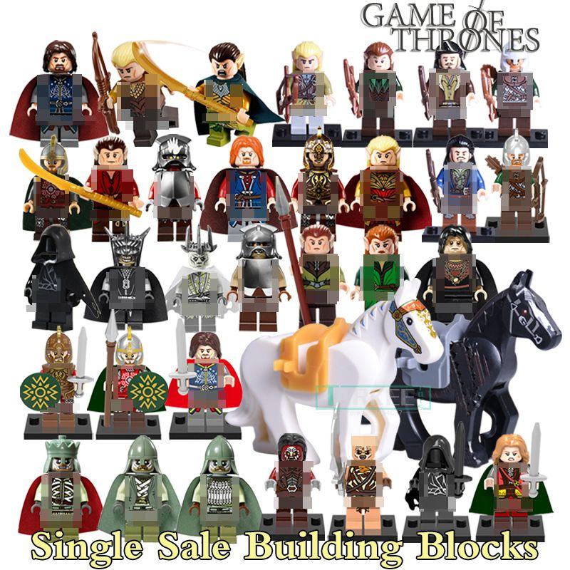 Kaufen 1 Stück Bausteine Hobbit Uruk Hai König Theoden