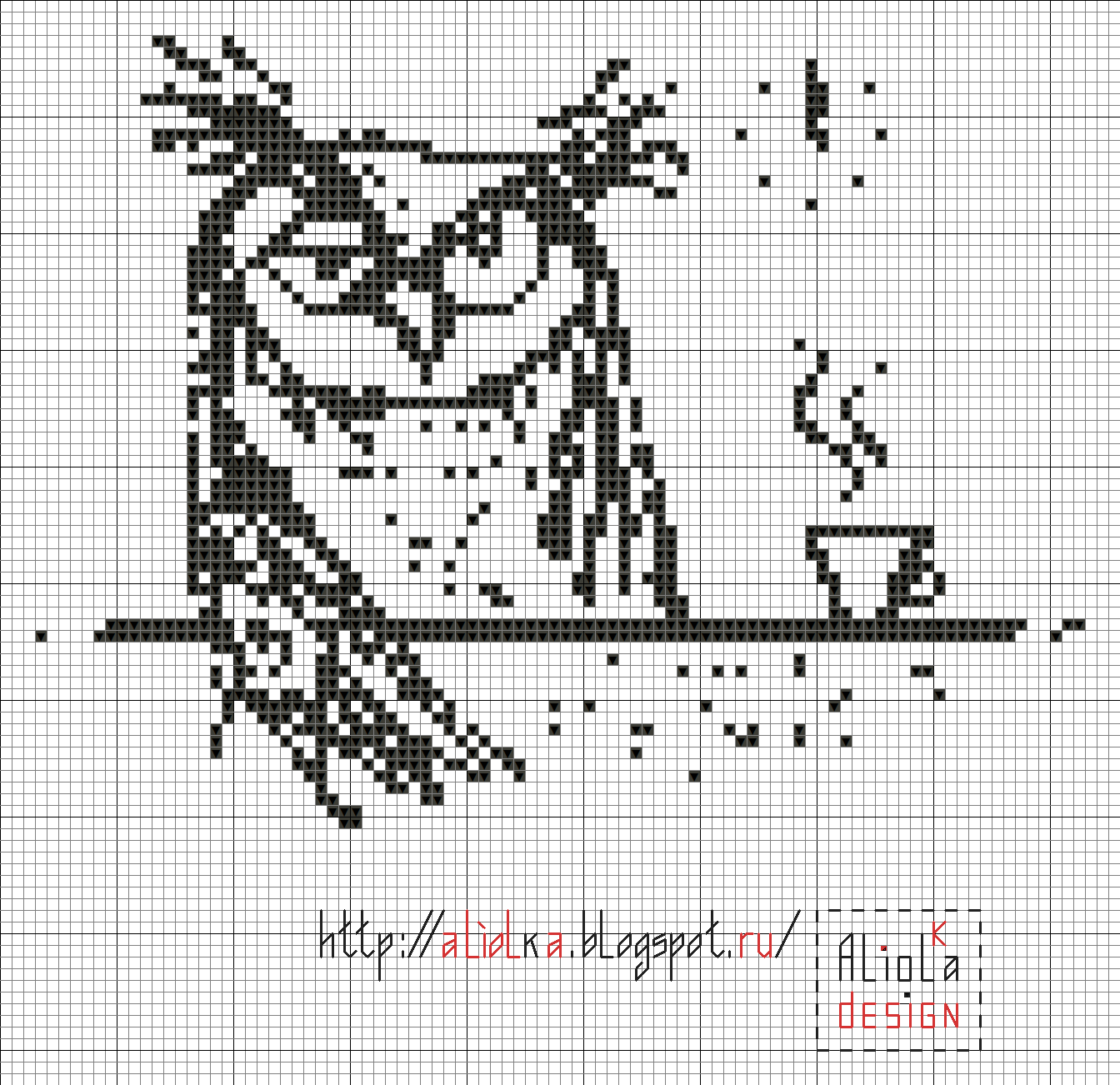 Мои творилки *** Aliolka design | Croche Filet | Pinterest | Punto ...