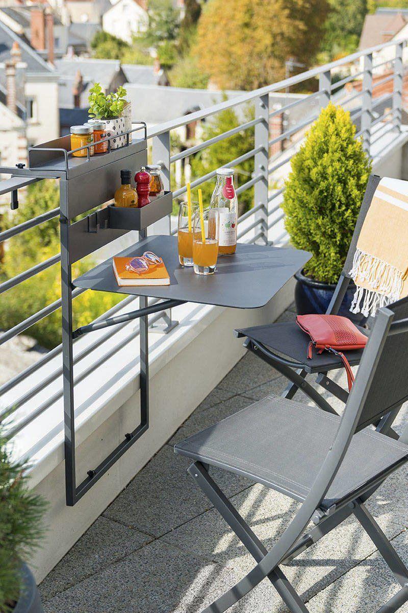 meubles a adopter pour un petit balcon