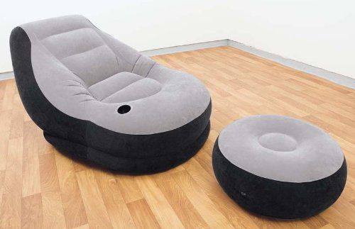 Intex Recreation Ultra Lounge With Ottoman Intex Chair And Ottoman Set Inflatable Chair