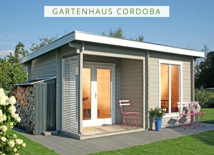 Wolff Gartenhaus Cordoba 44A Modern Gartenhaus modern