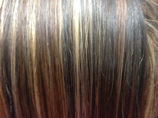 Tri color highlight and low light 2 blondes and 1 darkest brown lowlights blonde hair add darker shades surely beautiful color shift are not pmusecretfo Choice Image