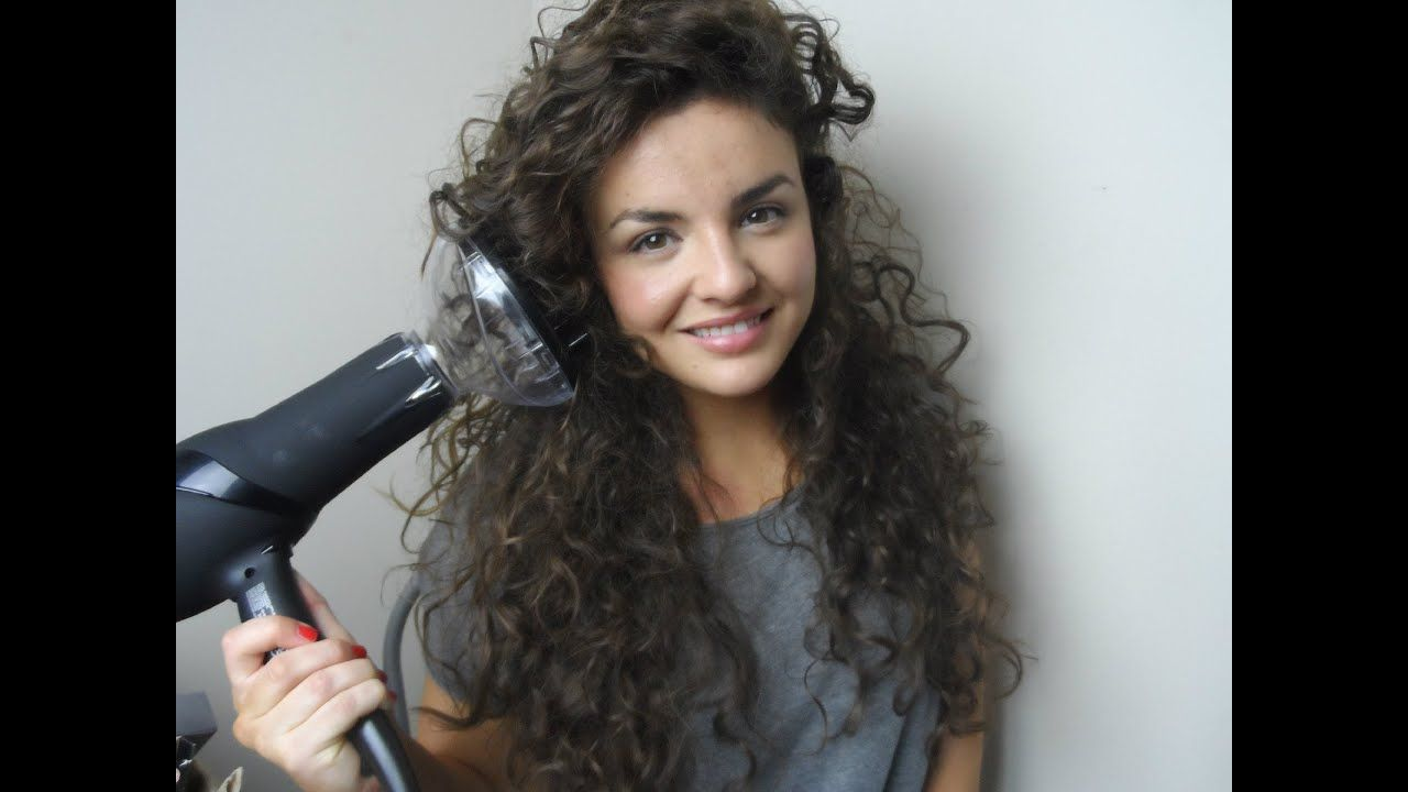How To Diffuse Curly Hair Curly Hair Diffuser Dry Curly Hair Hair Diffuser