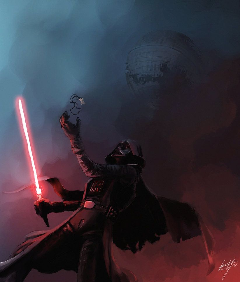 Darth Vader. . Jedi! I have been waiting for you!