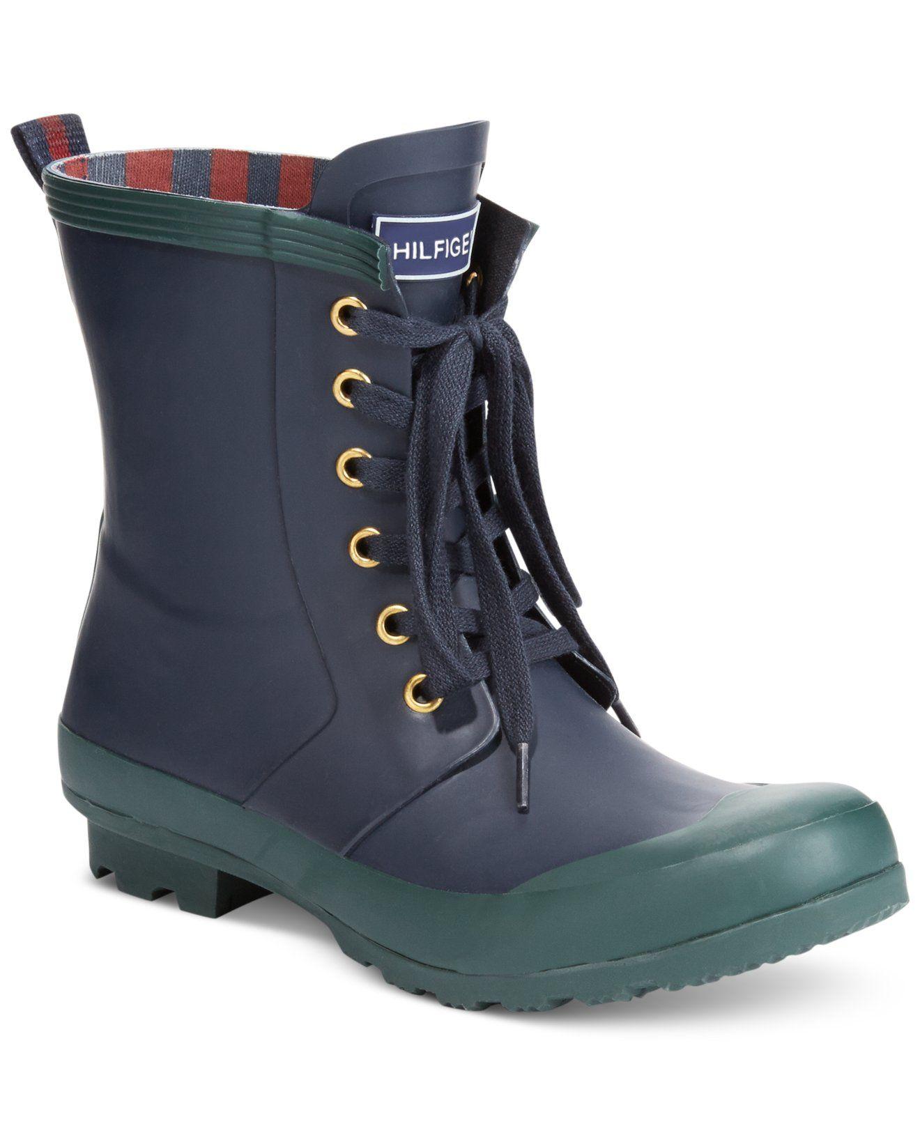 214c69e6221e Tommy Hilfiger Renegade Rain Booties - Winter   Rain Boots - Shoes - Macy s