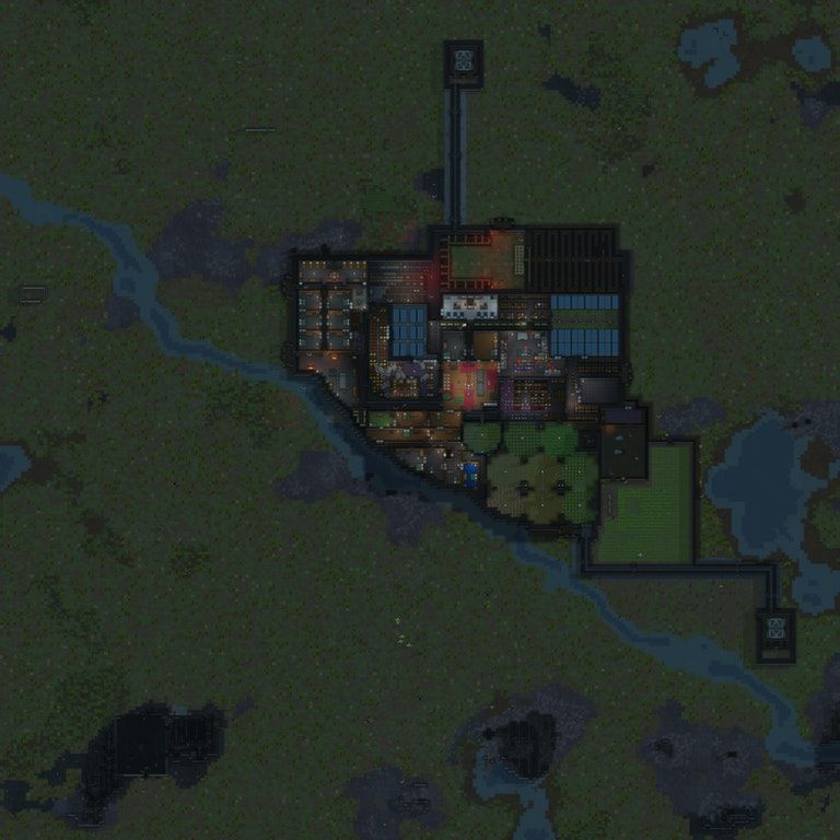 First Colony, 17 colonist, 448 days old : RimWorld | Games