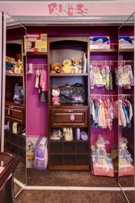 This Beautifully Organized Pink Nursery Is Proof Dreams Come True: After An  Enormous Amount Of Research, Our Baby Girlu0027s Pink Princess Dream Nursery  Decor ...