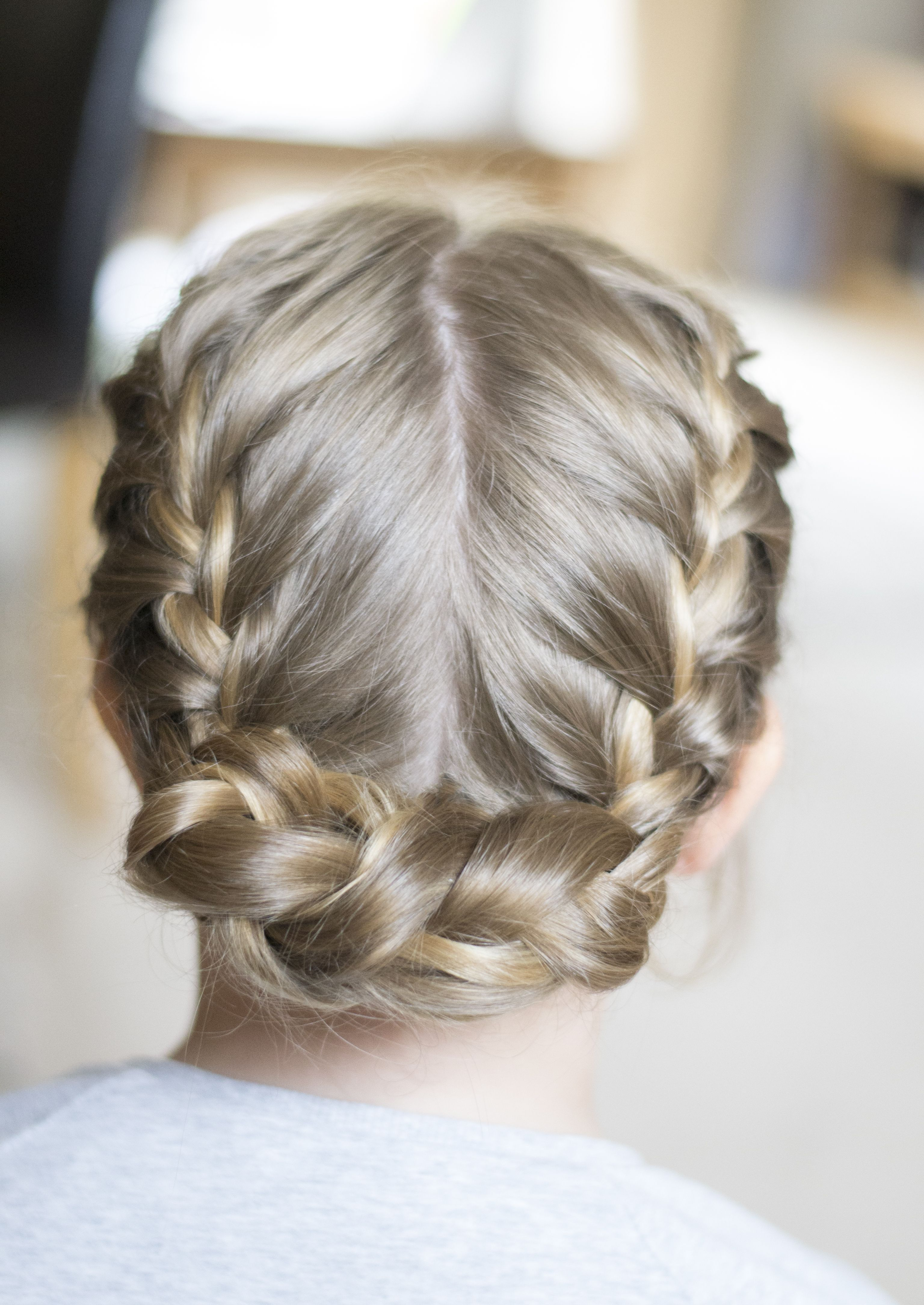 Simple Pretty Flower Girl Braids And Styles French Braid Into A