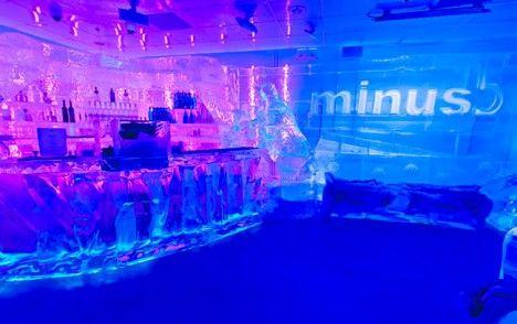 Minus 5 Ice Restaurant New York City Interestingunusual
