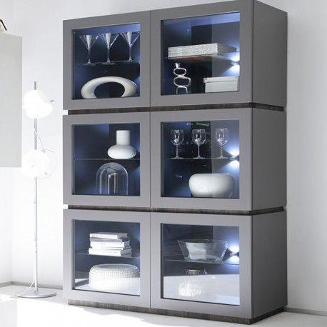 Le vaisselier moderne et laqué vous apportera un rangement optimal - rangement salle a manger