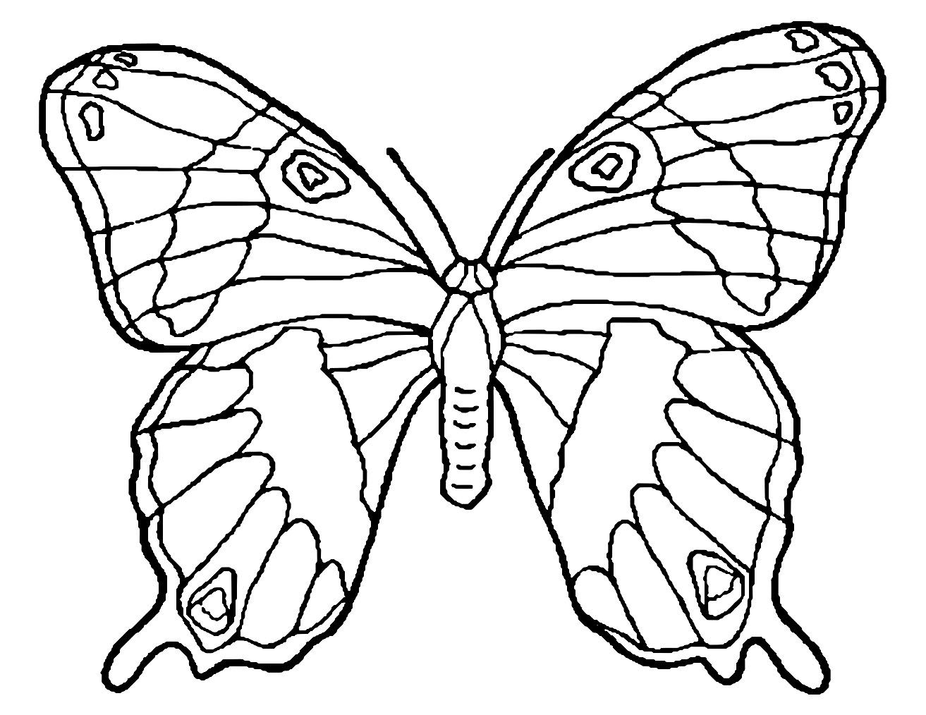 Butterflies To Color For Children Beautiful Butterflies Coloring Page From The Gallery Butterfl In 2021 Butterfly Coloring Page Coloring Pages Cute Coloring Pages [ 1014 x 1313 Pixel ]