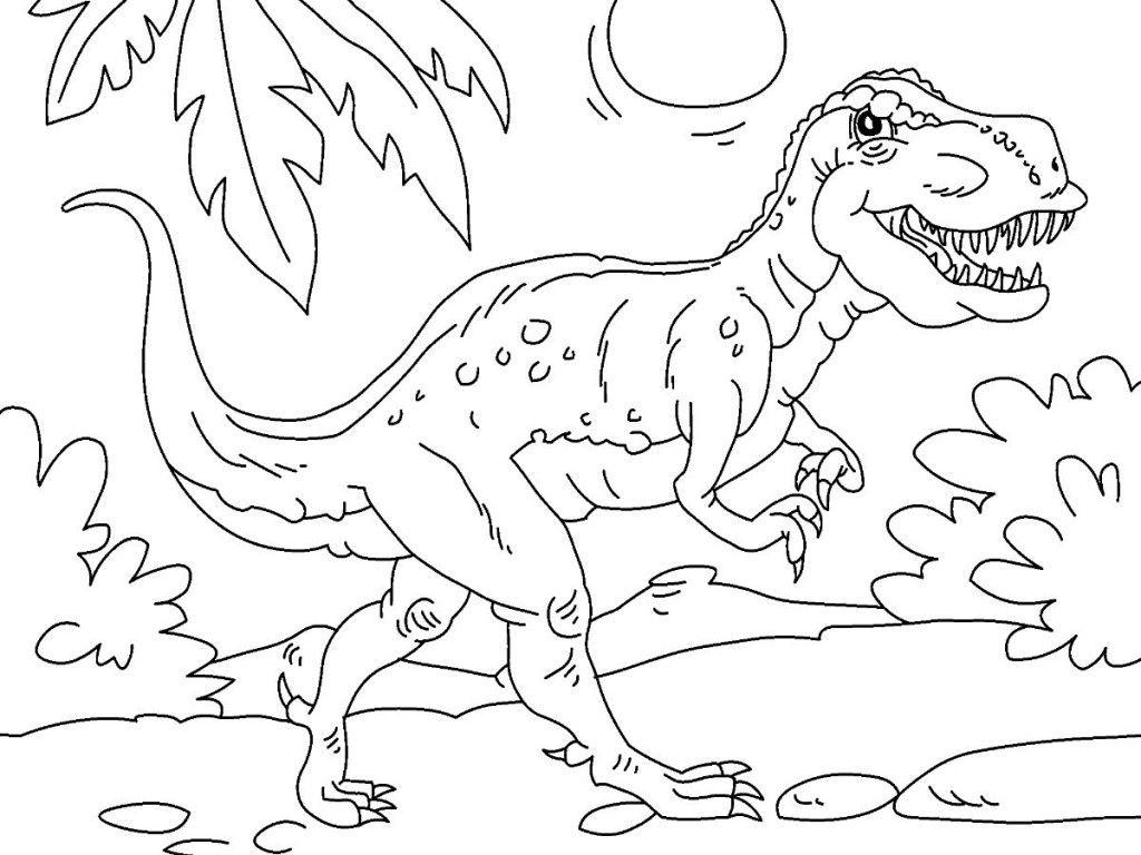 Dinosaurios para colorear - hyperpost | Negro, Blanco y Colorear