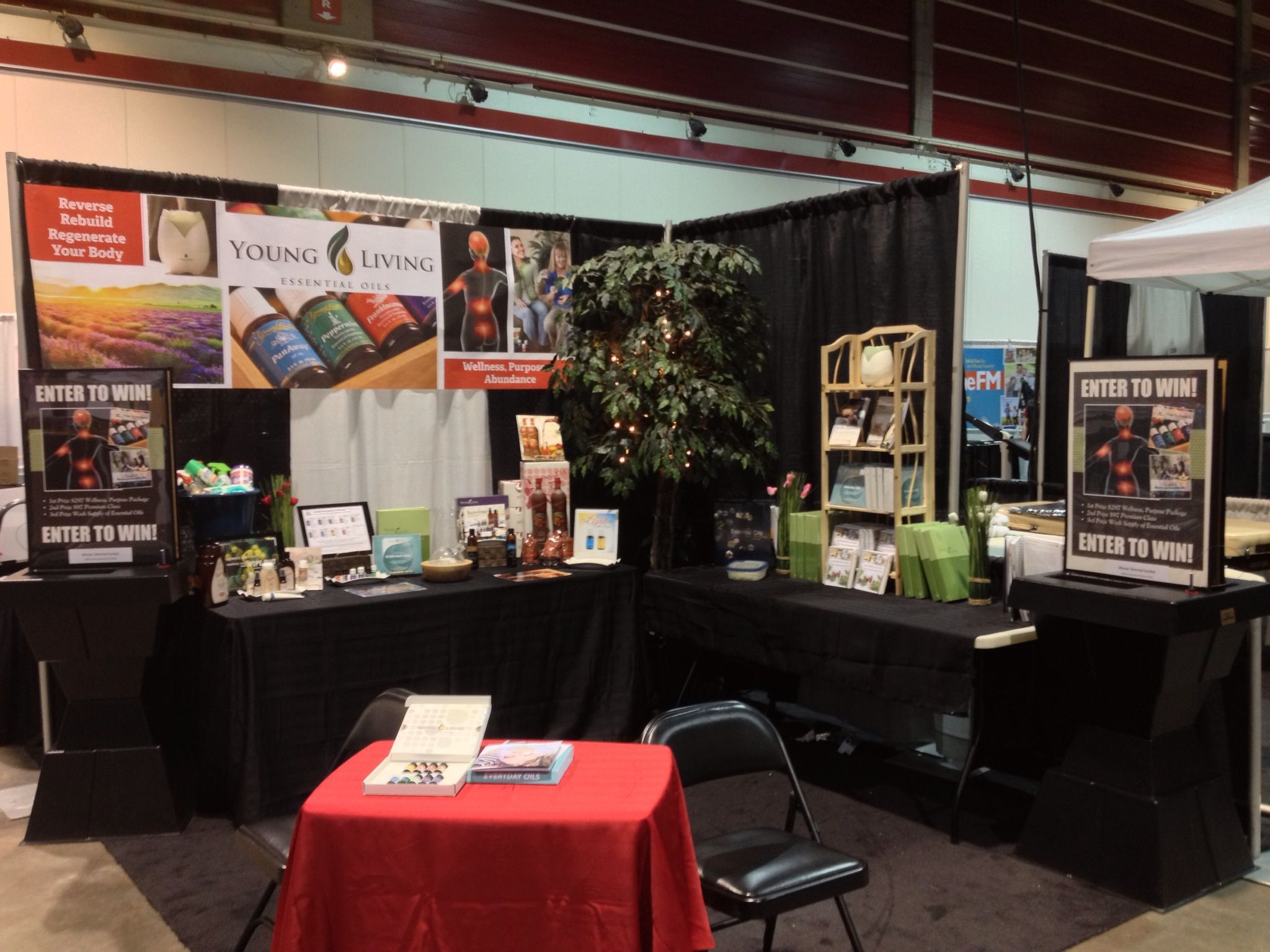 calgary womens show booth april 2013
