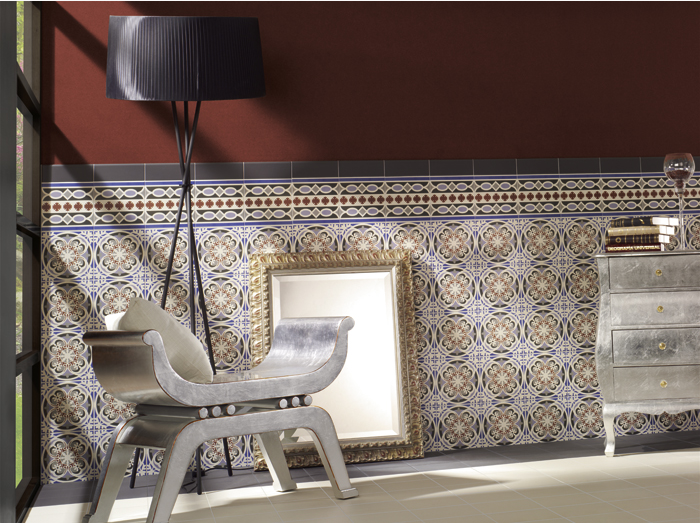 art ceramica carrelage haut de gamme r alisations imitation carreaux ciment pinterest. Black Bedroom Furniture Sets. Home Design Ideas