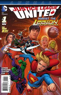 Justice League United Annual Vol 1 1 - DC Database - Wikia