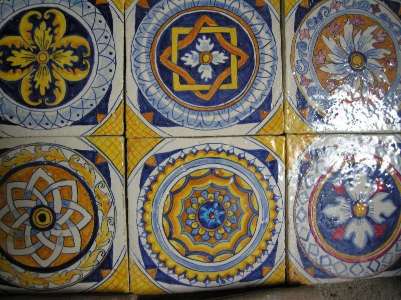 Piastrelle ceramica sicilia: fantastiche immagini su le maioliche
