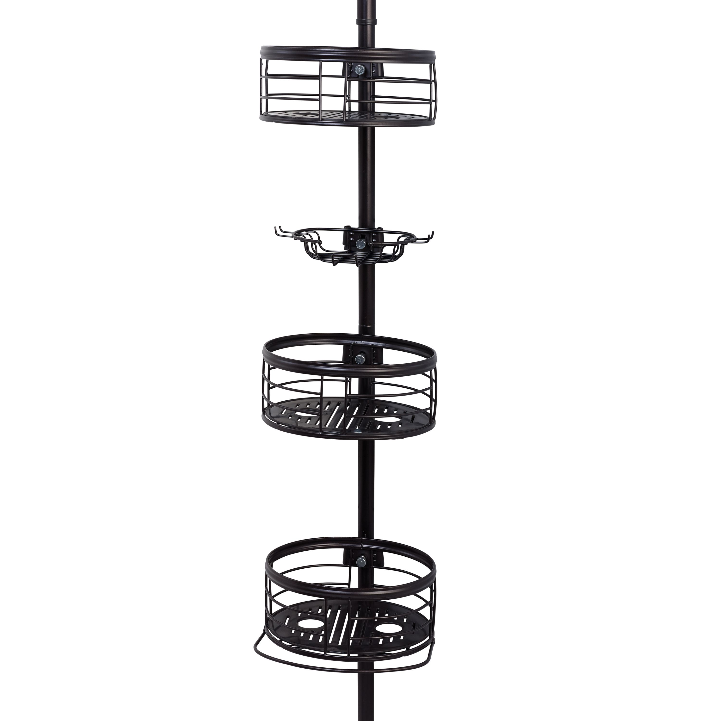 Home Shower Caddy Oil Rubbed Bronze Shower Shelves