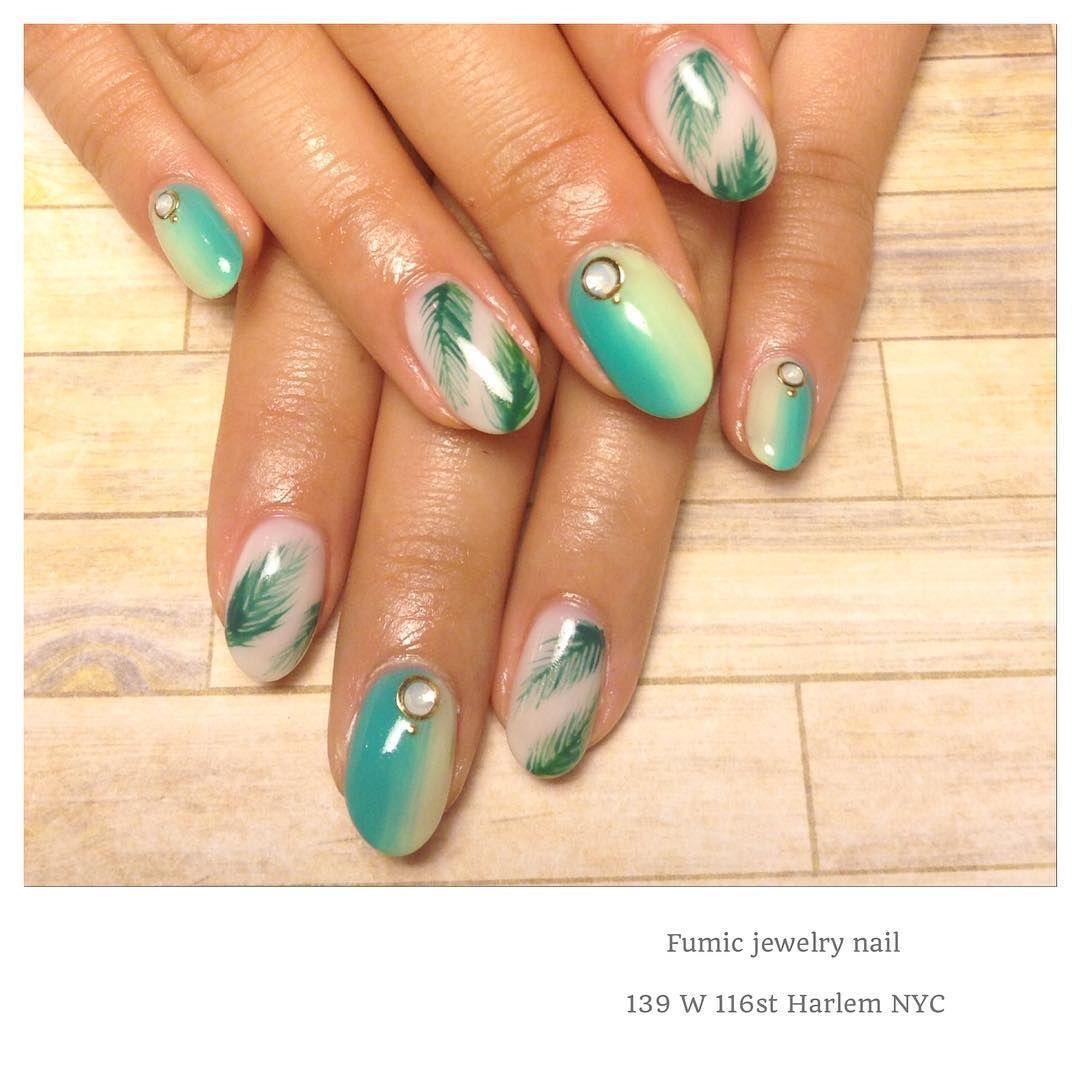 Bright mood✨Tropical Promo design by Fumic #nail #nails #nailart ...