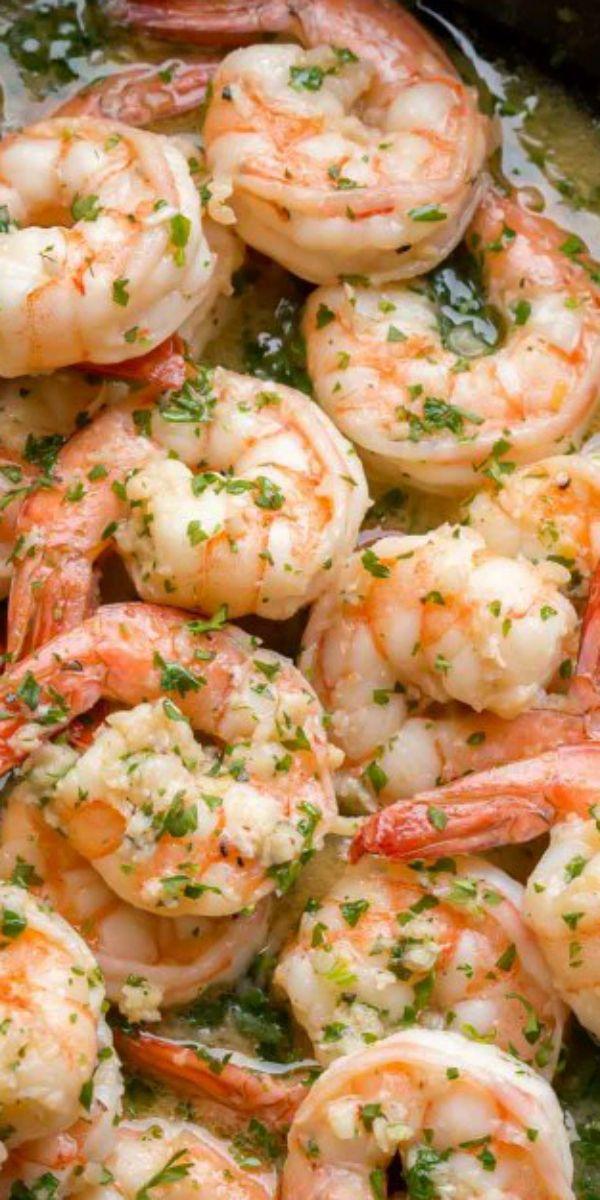 Easy Shrimp Scampi #easyshrimprecipes