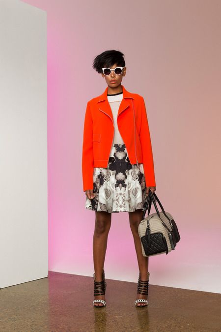 L.A.M.B. Spring 2014 Ready-to-Wear Collection Slideshow on Style.com