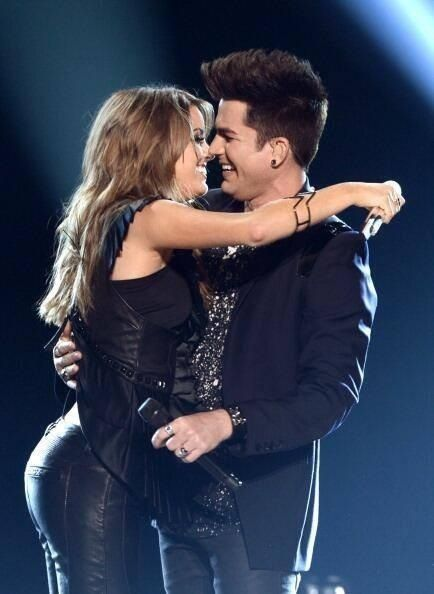 Adam And Angie Miller After Their Duet On Ai 2013 Finale Adam