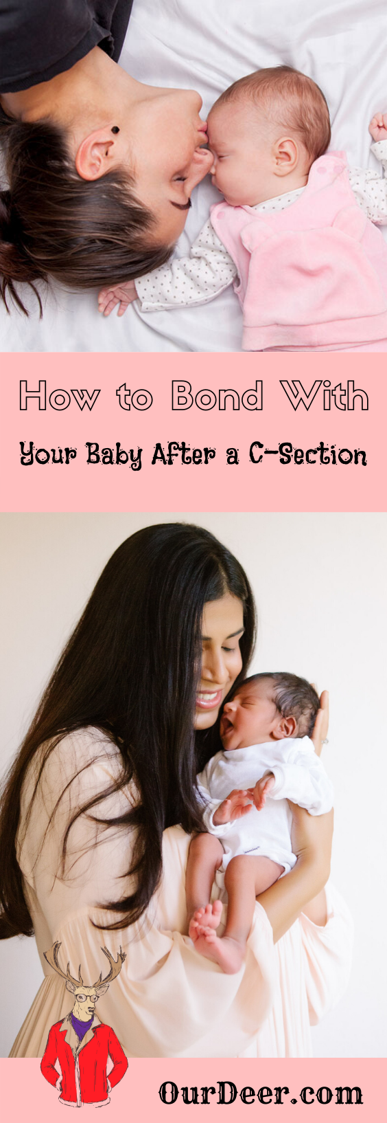 How To Bond With Your Baby After A C-Section