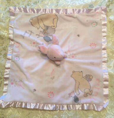 Details about Disney Classic POOH Kids Preferred Piglet Pink Baby Security Blanket Satin Lovey #securityblankets Disney Classic POOH Kids Preferred Piglet Pink Baby Security Blanket Satin Lovey  | eBay #securityblankets