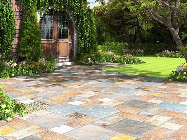 Charming Billig Garten Bodenbelag
