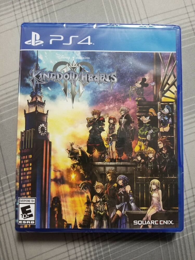 Kingdom Hearts 3 For Ps4 Brand New Sealed In Plastic Ps4 Gaming Video Kingdom Hearts Kingdom Hearts 3 New Video Games