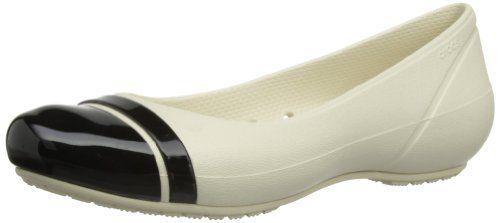 98a21435d28a9 Crocs Women s Cap Toe Flat