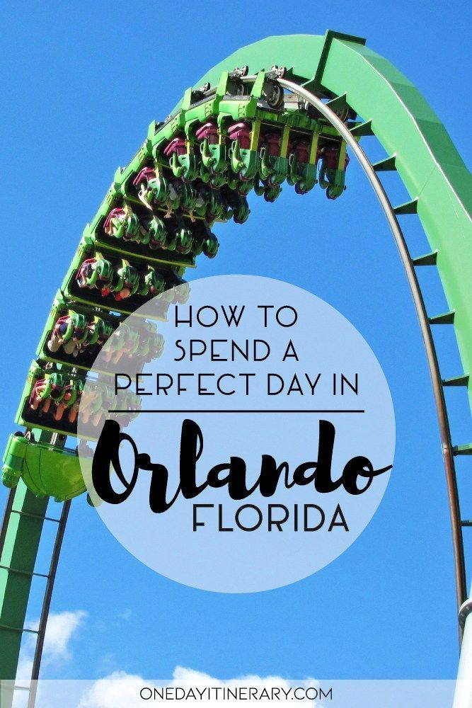 One Day in Orlando (Guide) What to do in Orlando