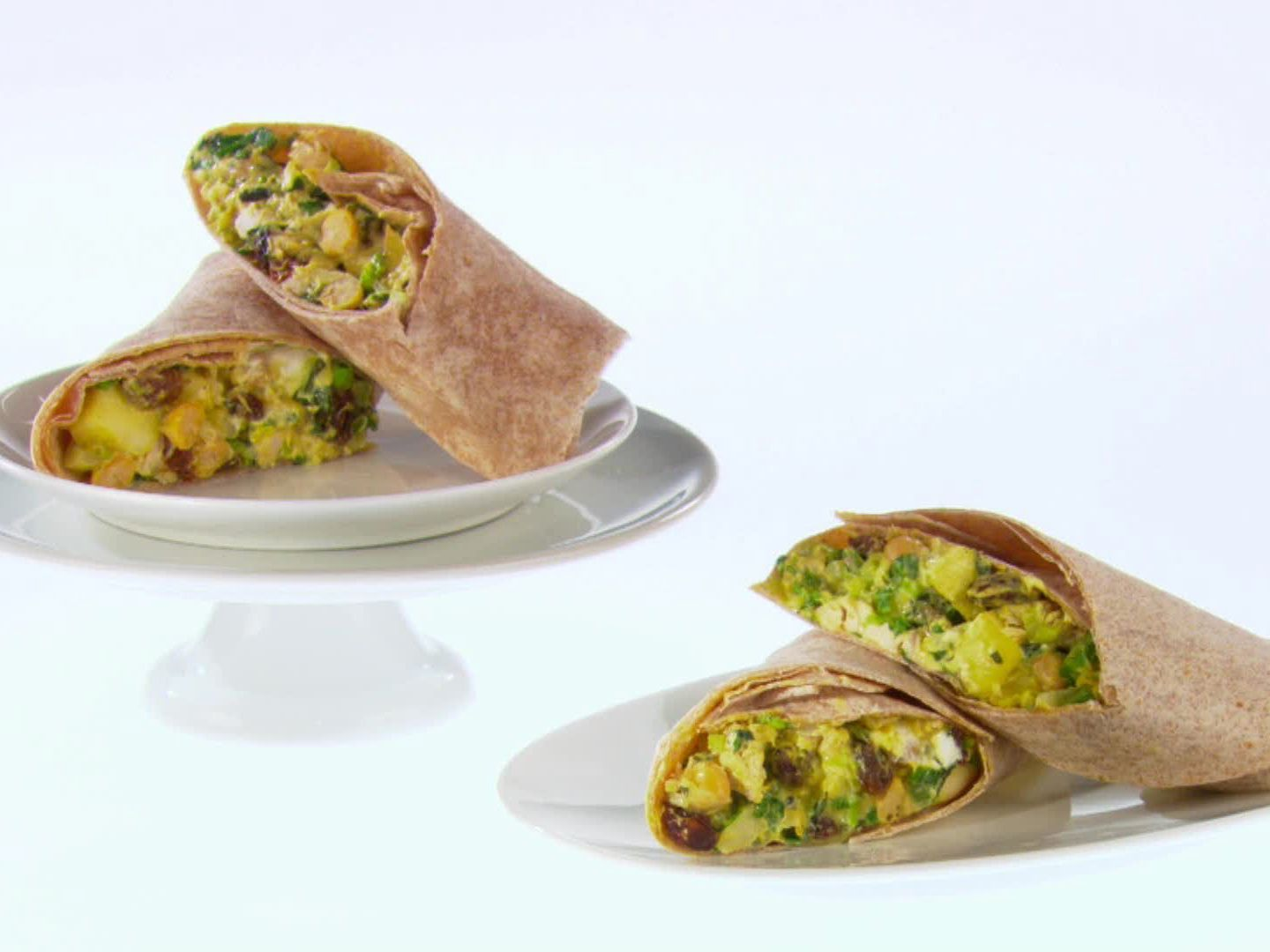 Curried chicken and apple wraps recipe giada de laurentiis curried chicken and apple wraps forumfinder Gallery