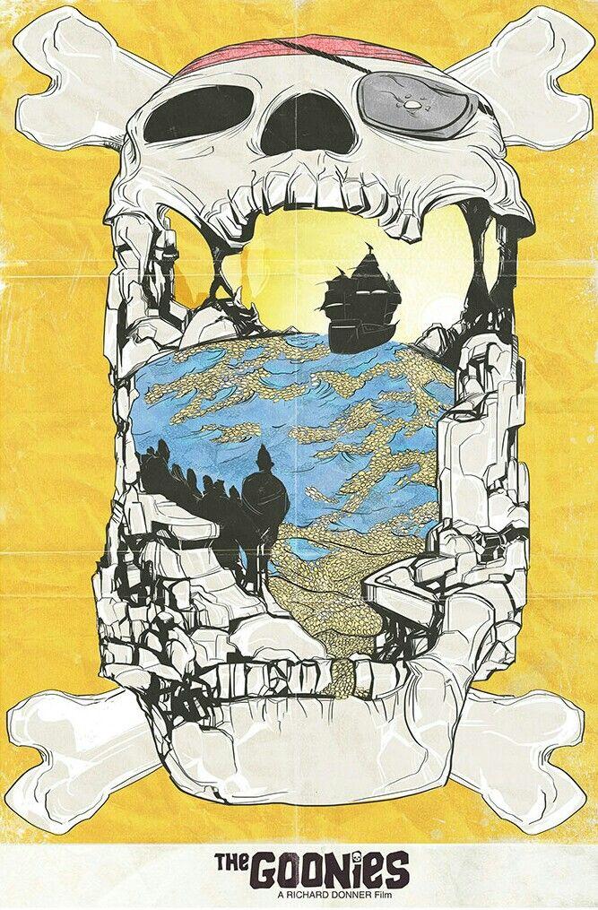The Goonies Goonies, Alternative movie posters, Movie art