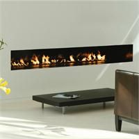 Image result for Fireplaces Linear Vent-Free
