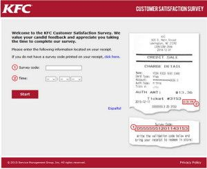 Www Mykfcexperience Com Kfc Customer Experience Survey Surveys