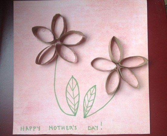 Toilet Paper Roll Craft For Mother S Day Healthy Mama Info Toilet Paper Roll Crafts Toilet Paper Roll Art Babysitting Crafts