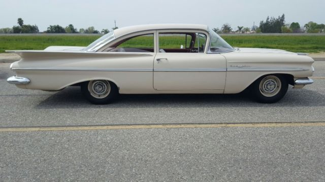 1959 CHEVY BELAIR 2DR SEDAN, 39K ORIGINAL MILES, UNMOLESTED, VERY WELL PRESERVED…