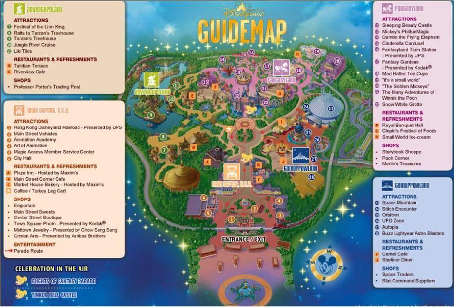 Hong Kong Disneyland Map Pdf Hong Kong Free and Easy Trip – Day 3 | Disney | Disneyland map