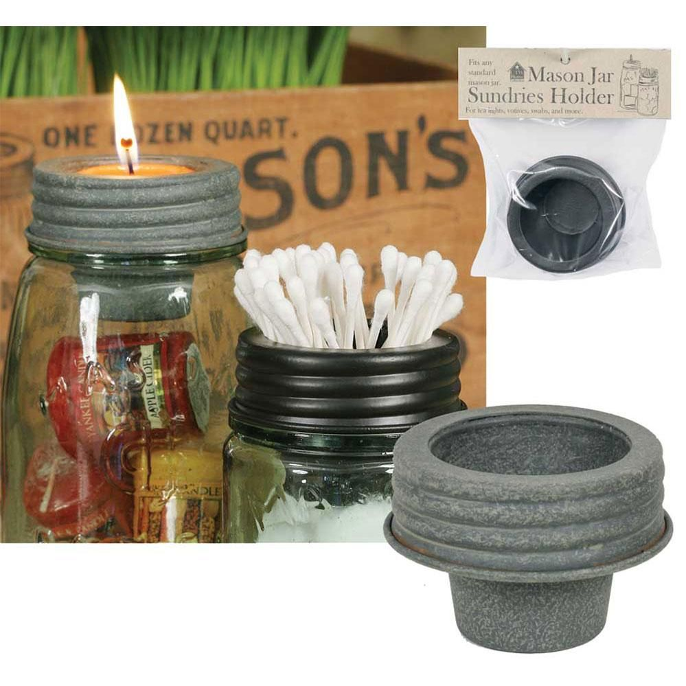Photo of Mason Jar Tapered Cup Lid – Barn Roof – Box of 4