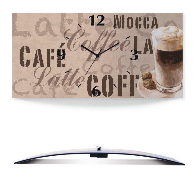 Wanduhr »Jule: Kaffee - Latte Macchiato« #lattemacchiato