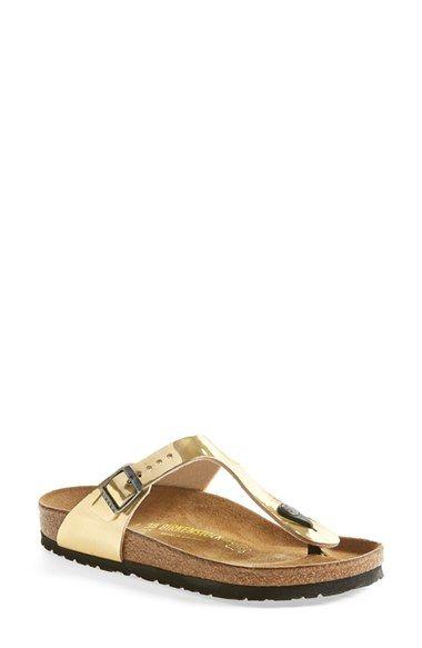 affb6db67ffe Birkenstock GOLD  Gizeh  Birko-Flor™ Thong (Women)