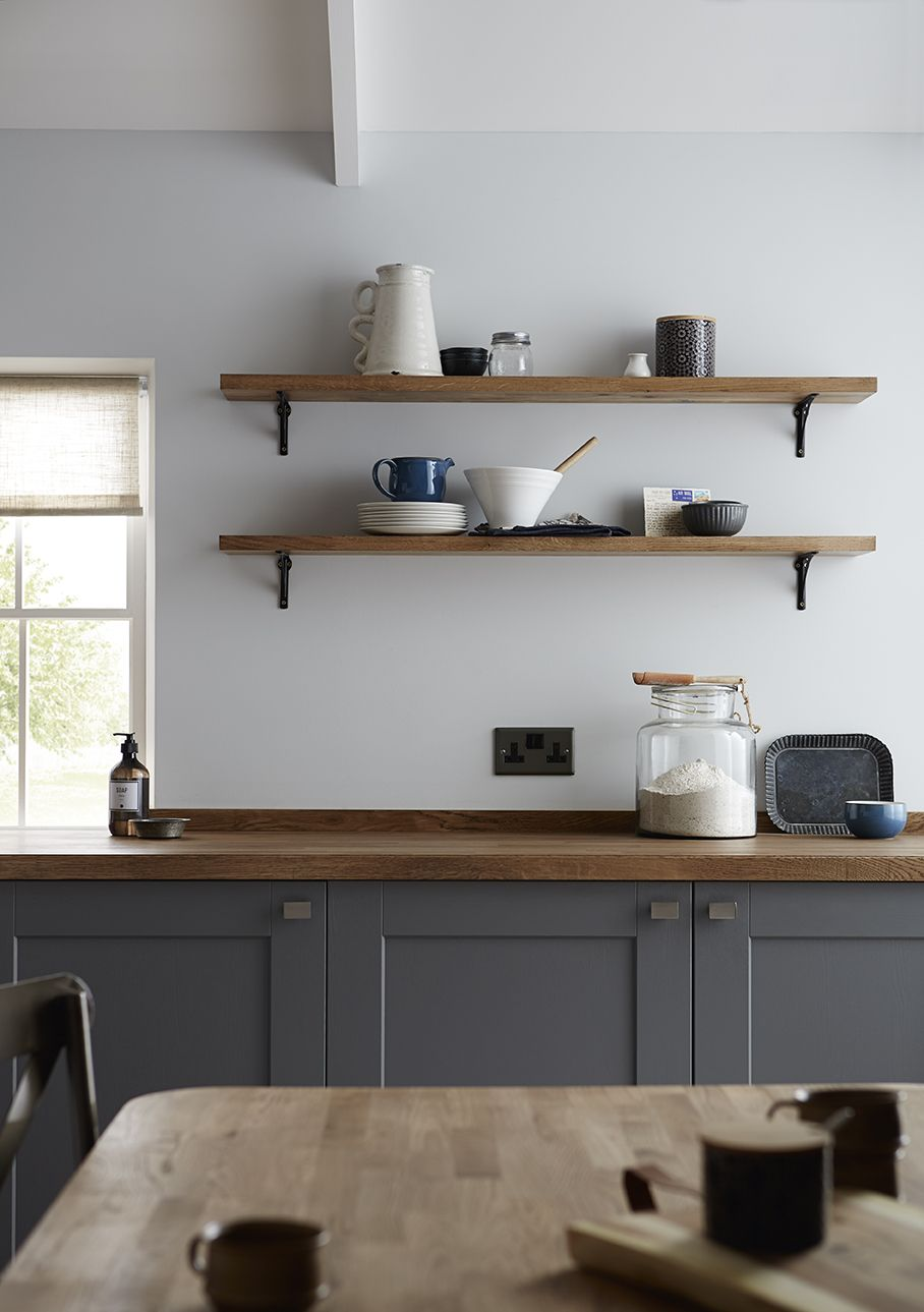 The Fairford Slate Grey, a shaker style kitchen in a modern style ...