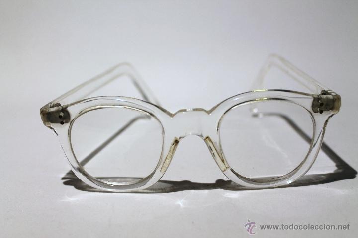 Gafas vintage - Montura de pasta transparente | CACHIVACHES | Pinterest
