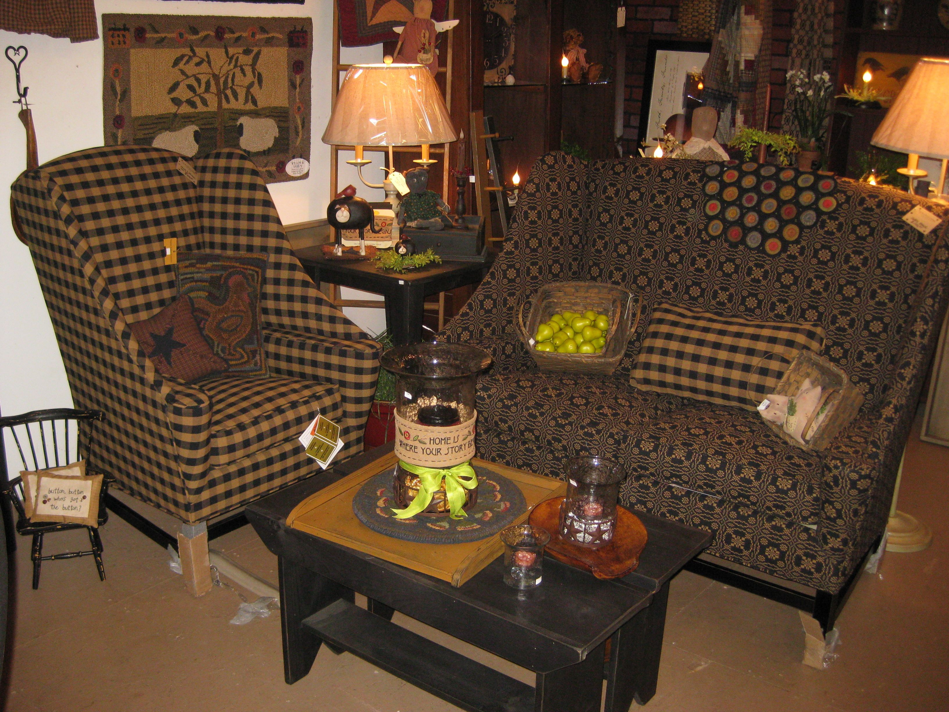 Custom Upholstered Furniture In Our Shop The Red Brick