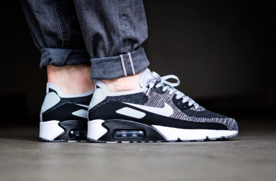 Black Wolf Grey Land On The Nike Air Max 90 Ultra 2.0