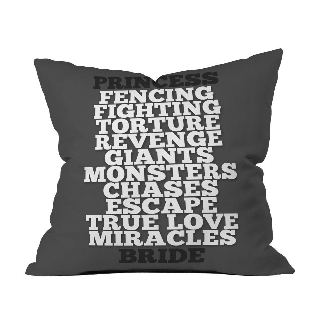 Fencing & True Love Throw Pillow Cover | dotandbo.com