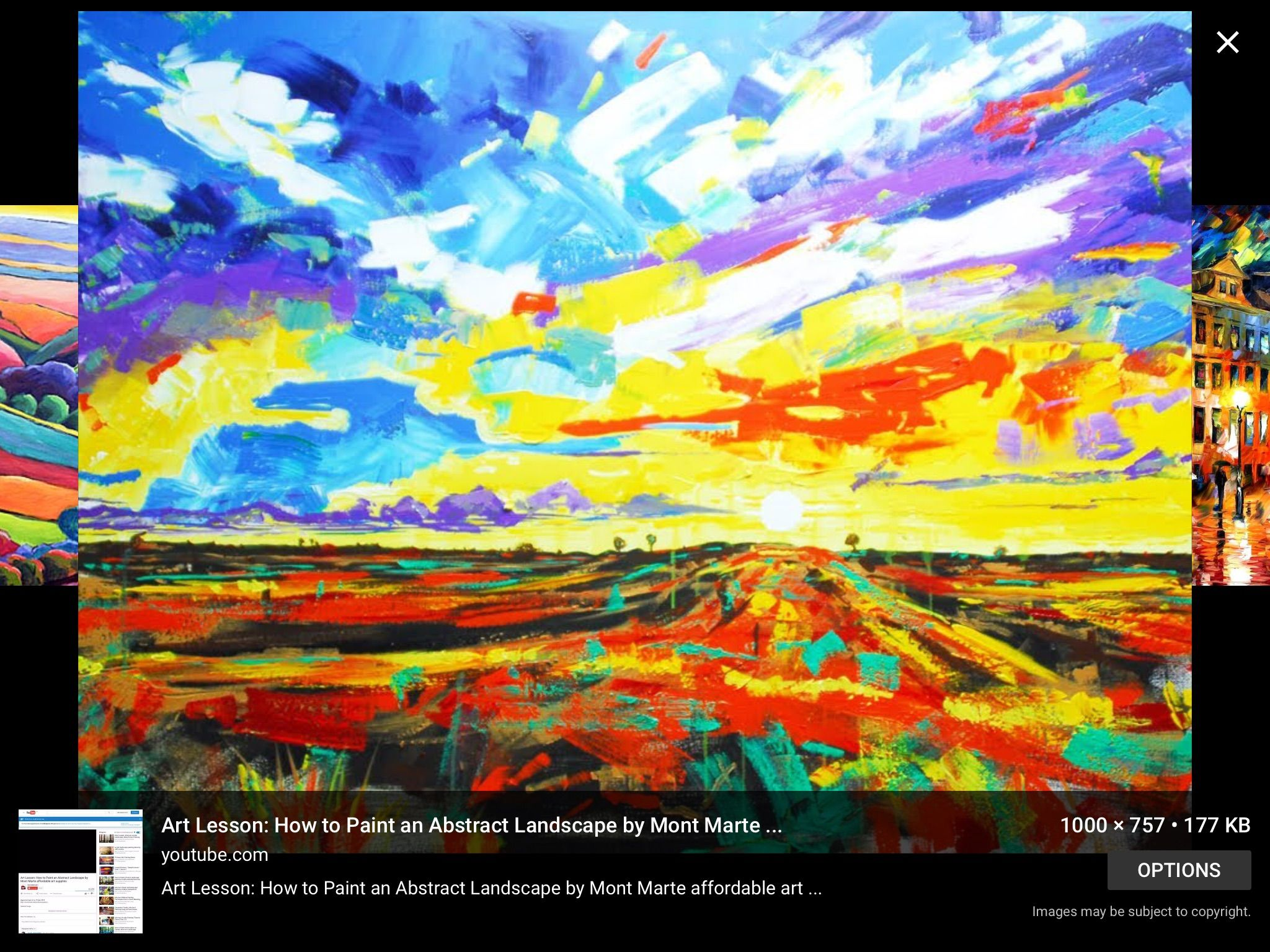 Abstract Landscape Paintings Famous Artists